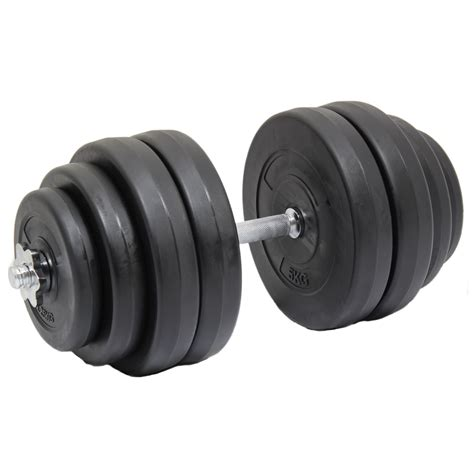 free weights and bench set max fitness 30kg single dumbbell free weight set gym bench