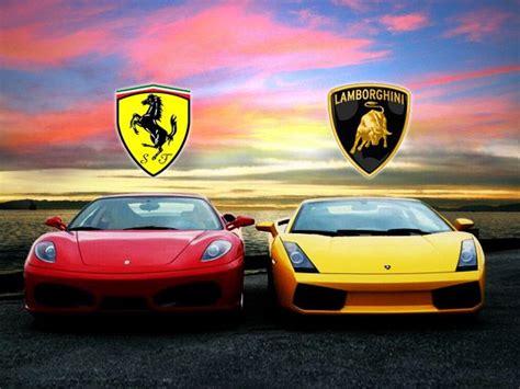 Ferrari And Lamborghini by Las Mejores Noticias Autos Deportivos Ferrari Vs