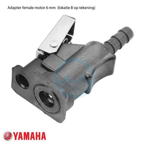 buitenboordmotor brandstof brandstof adapter female motor 6mm yamaha brandstof