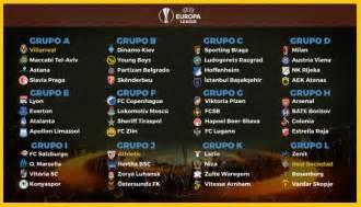 Calendario Europa Calendario Europa League 2017 2018 Fixture Completo