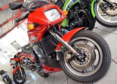 kawasaki gpz brick motorcycle