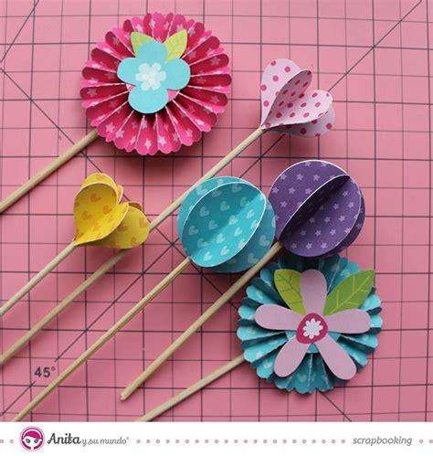 flor de papel para scrapbook pictures to pin on pinterest las 25 mejores ideas sobre portaretratos para ni 241 os en