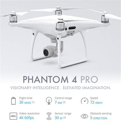 Drone Phantom 4 Indonesia dji phantom 4 pro drone 1 quot cmos 4k 60fps 20mp