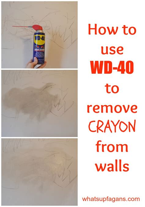 Remove Crayon From Wall | 7 methods that actually work to remove crayon from walls