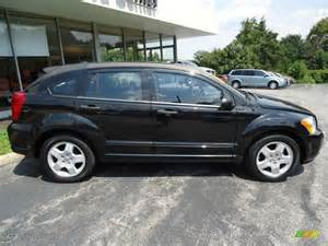 brilliant black pearl 2008 dodge caliber sxt