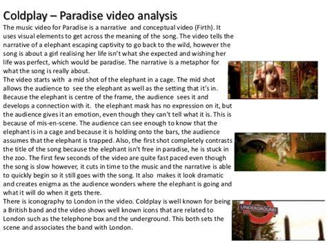 coldplay lyrics paradise coldplay paradise analysed