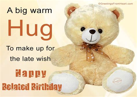 Late Happy Birthday Wishes Comments The 25 Best Ideas About Belated Birthday Greetings On