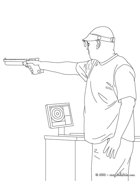 Shooting Coloring Pages shooting coloring pages hellokids