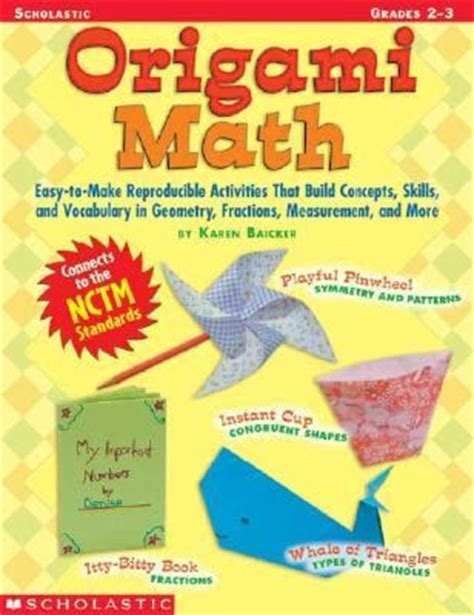Origami Math Lessons - almost unschoolers a whale of a math lesson