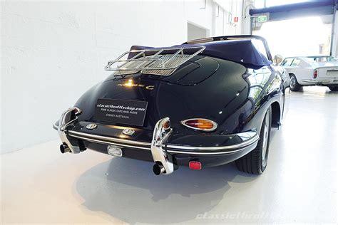 Porsche 356 C Cabrio by 1965 Porsche 356 C Cabriolet Classic Throttle Shop