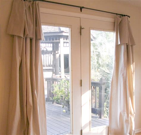 Drapery Ideas For Doors patio door curtain ideas homesfeed