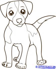 How to draw a jack russell terrier step by step pets animals free