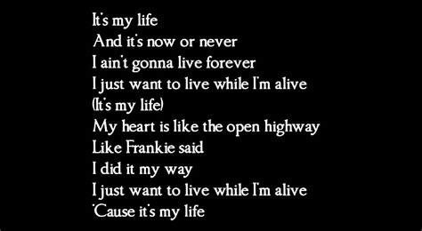I Ts My Live bon jovi its my lyrics