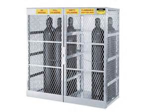 Cylinder Storage Cabinet Gas Cylinder Cabinet Outdoor Storage 20 Cylinders
