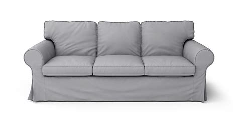 ektorp sofa bed slipcover ikea ektorp 3 seater sofa bed slipcover only in gaia fog 100