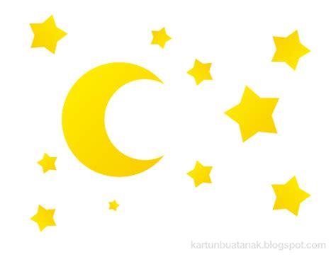 wallpaper bintang lucu bintang dan bulan indah