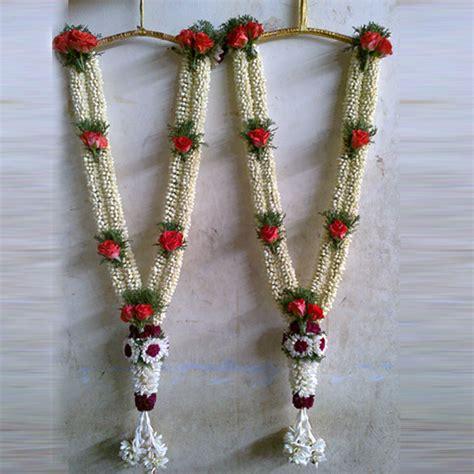 garlands for wedding wedding petal garlands malai supplier in chennai
