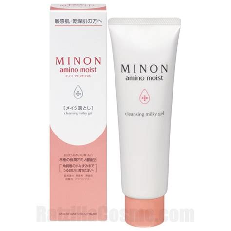 Minon Amino Moist Clear Wash Powder daiichi sankyo healthcare minon amino moist moist charge milk