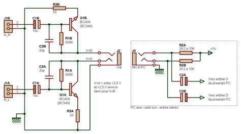 schema transistor bc547 preli