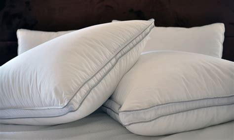natural comfort pillows natural comfort pillow 2 pack groupon goods