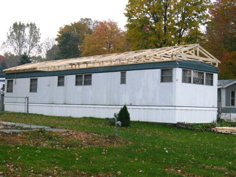 how to build a modular home mobile home roof overs a quick guide to this great home