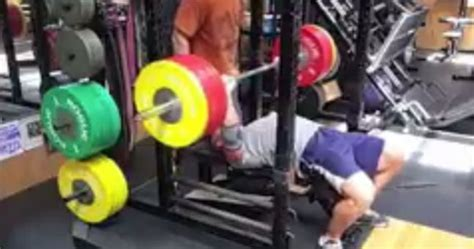insane bench press video john cena makes us regret skipping the gym with