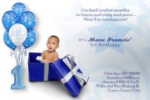 baby boy birthday invitations drevio invitations design