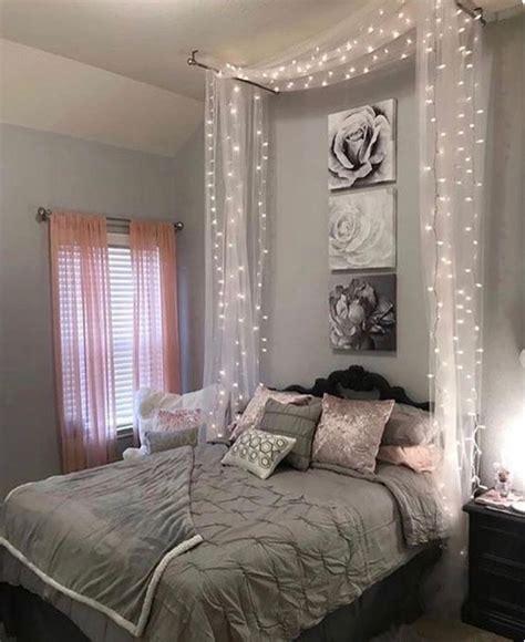 schlafzimmer ideen mit lichterketten grau zimmer inspiration 50 tolle schlafzimmer deko