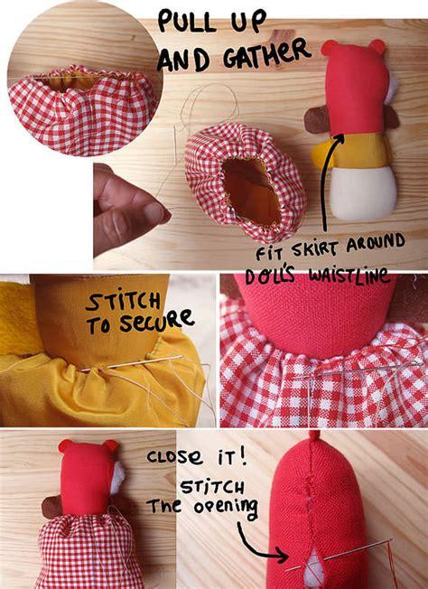 rag doll diy diy topsy turvy rag doll tutorial handmade