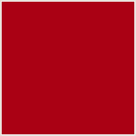 dark red color aa0114 hex color rgb 170 1 20 bright red red