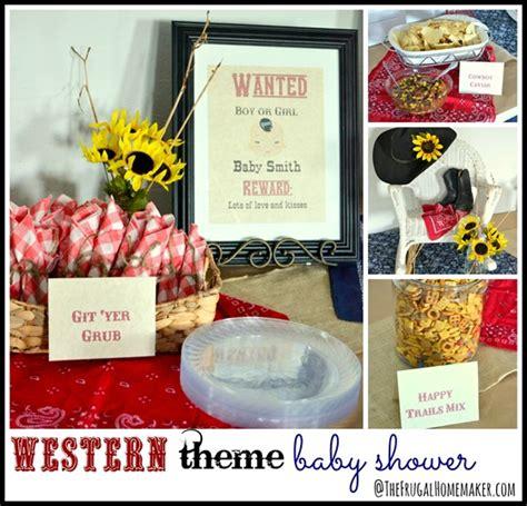 western theme baby shower gender neutral