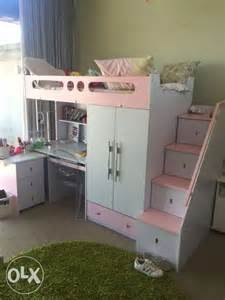 archive mokki bunk bed with desk unit for sale in