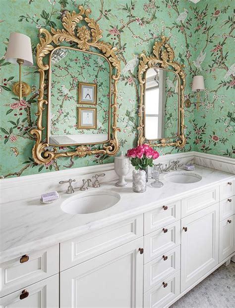 15 stunning bathroom wallpaper design ideas 15 stunning bathroom wallpaper design ideas