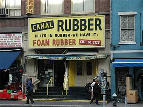 rubber st store nyc canal rubber canal manhattan new york nyc usa