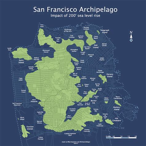 san francisco heightmap the streets of submerged san francisco burrito justice