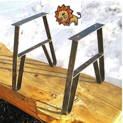 flat iron table legs flat iron legs for bench coffee table entry seat garden