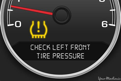 low tire pressure warning light what does the tire pressure warning light