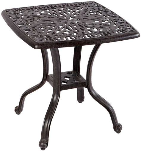 alfresco home kaleidoscope cast aluminum 21 square side