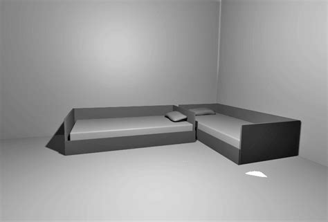 Desk Beds For Adults Arranging Twin Beds In A Room