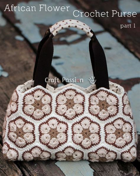 african flower crochet pattern bag african flower purse pattern bag patterns crochet