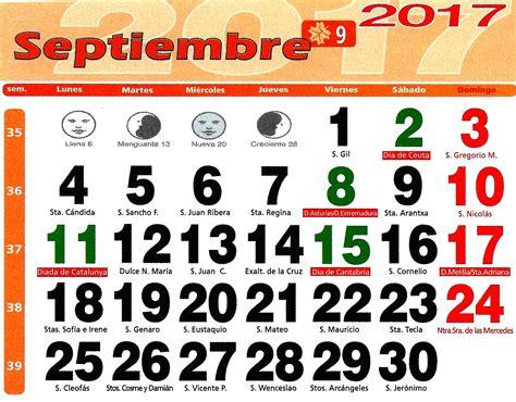 Calendario Septiembre 2017 Chile Huerto Urbano Luis Servia Borgas Calendario Lunar 2017