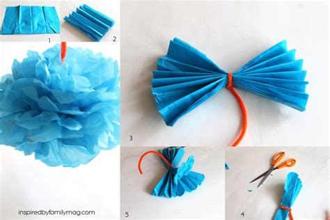 How To Make A Flower Of Tissue Paper - how to make tissue paper flowers