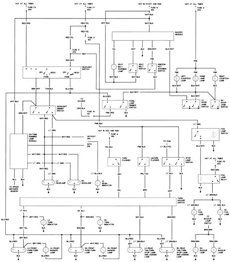 1991 Jeep Wrangler Wiring Diagram Repair Guides Wiring Diagrams Wiring Diagrams