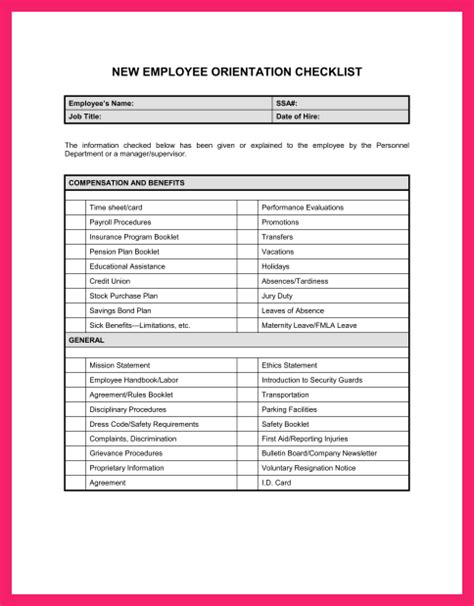resignation checklist template image collections