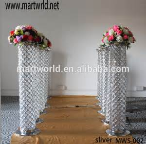 Wedding Arches And Columns For Sale 1m Lighted High Quality Crystal Pillars Columns For Wedding Decorations Columns For Wedding