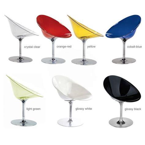 kartell eros swivel chair kartell ero s spinning base chair