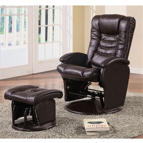 Rocker Glider Recliner by Deluxe Baby Nursing Glider Rocker Recliner Lounger Brown