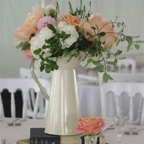 wedding flower jugs jugs wedding centrepieces for country garden weddings wedding weddingdecorations