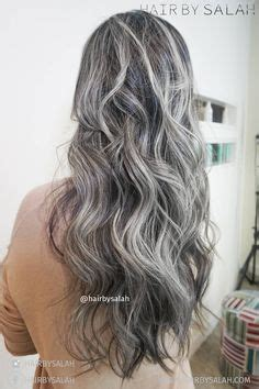 salt and pepper hair with highlights google search before after mat brown colour without bleach by salah