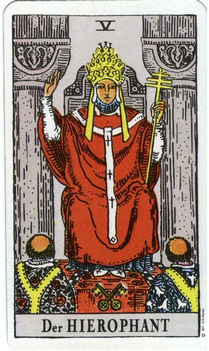 tarot rider waite 8488066732 top 25 ideas about tarot 5 the hierophant on the hierophant goddesses and sacred